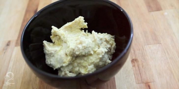 Receita de Hummus Tahine (pasta de grão de bico) em vídeo | Gourmet a Dois