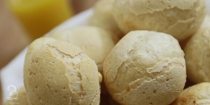 Receita de Pão de Queijo Fácil em vídeo | Gourmet a Dois