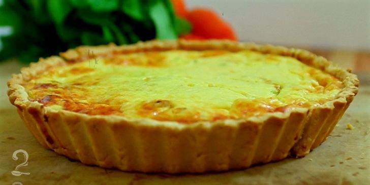 Receita de Quiche em vídeo | Gourmet a Dois