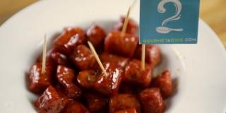 Linguiça Caramelada com Sidra