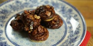 Cinnamon rolls de bacon