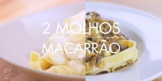 2 Molhos Infalíveis para Macarrão ou Massa - Molho Branco e Funghi